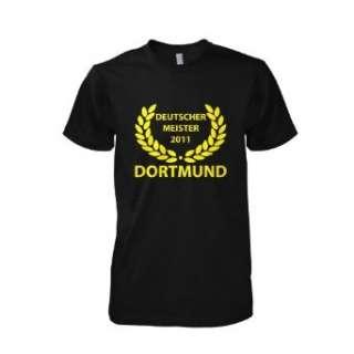 Meister 2011   Dortmund T Shirt, Herren  Bekleidung