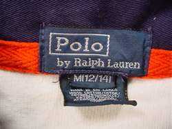 POLO Ralph Lauren Classic Rugby Jersey (Youth Medium)