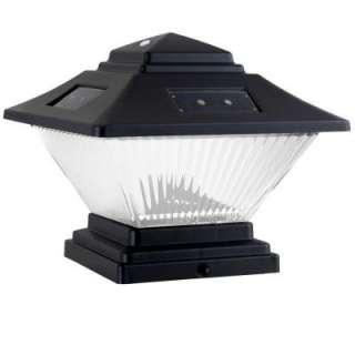 Hampton Bay Wall Mount Outdoor Solar Light Fixture 79257