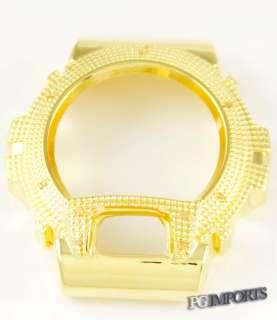 14k GOLD PLATED CUSTOM DIAMOND CASE FOR G SHOCK 6900