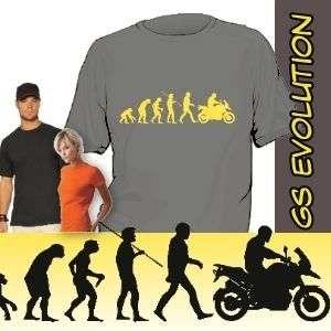 Shirt Schnabeltier Evolution Shirt Cross Motorrad