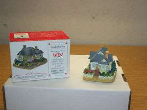 LIBERTY FALLS CHRISTMAS VILLAGE COLLECTION HANDY ANDY MALLOYS HOUSE