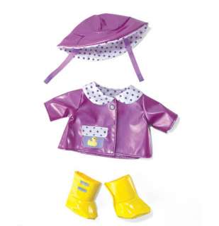 Manhattan Toy Baby Doll Stella Rainy Day Outfit