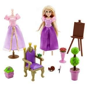 Disney Princess Rapunzel Tangled Mini Doll Play Set W/ Pascal Figure