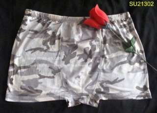 MENS KNITTED DESIGN SILK BOXER/SHORTS~SIZE LARGE