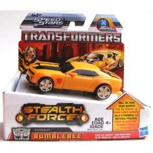 Transformers 96221 Stealth Force Autobot Bumblebee (12.5cm) Figur