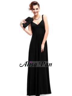 Ever Pretty Stunning Crystal like Beads Formal Prom Dress 09102