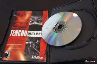 Tenchu Wrath of Heaven MINT Original Black Label PS2 047875804210