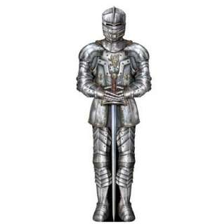 Foot Medieval Suit Of Armour Cutout Party Decoration