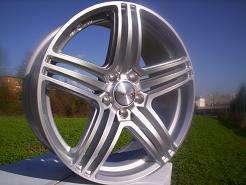 Felgen 19 Mercedes A C Klasse W204 W203 W202 C63 AMG