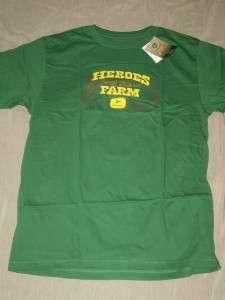 NWT JOHN DEERE MENS T Tee Shirt LARGE L Farm Heros