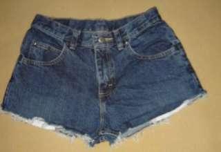 LEE Jeans Vtg Daisy Dukes CUT OFF DENIM festival Jean Cutoffs SHORTS