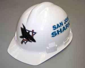 Contractors Hard Hat Sports NHL San Jose Sharks Logo