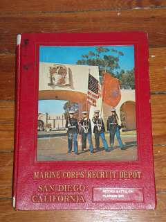 MARINE CORPS RECRUIT DEPOT SAN DIEGO, CA YEARBOOK