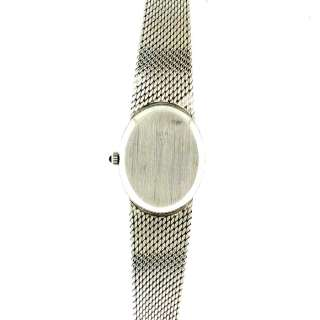 Vintage Corum Ladies Diamond Watch 18k White Gold