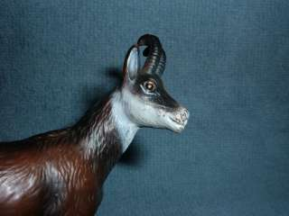 RETIRED Schleich Chamois 14326 1997 2001 marked Germany toy animal FR