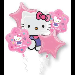 HELLO KITTY Birthday Party Balloons Bouquet