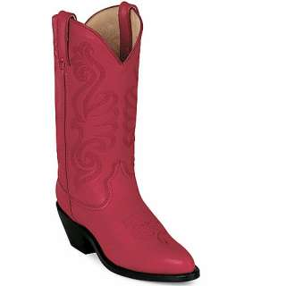 Womens DURANGO Red Leather Western Boots RD4105