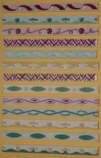Art Nouveau Arts Crafts Majolica Pottery Tile Trim Border bath USA