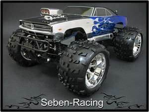 Seben 18 Monster Body Shell MK58 Dodge Hemi Charger