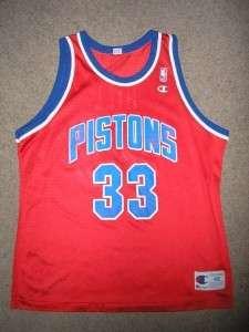 GRANT HILL #33 PISTONS NBA Basketball Jersey Adult 48