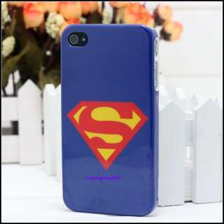 New Blue Superman Hard Case Cover for Apple iPhone 4 4G
