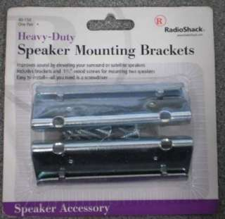 Pair of Heavy Duty Speaker Mounting Brackets Radio Shack 40 150 50 Lb