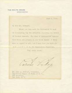 CALVIN COOLIDGE   TYPED LETTER SIGNED 06/09/1924