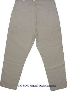 BIG MAC Workwear Natural Duck Carpenter Jeans W 54 L 32 |