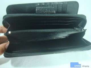 100% Authentic Stingray Genuine Leather Wallet Purse