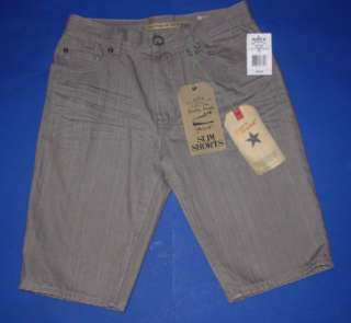 NWT BOYS HOLLYWOOD THE JEAN PEOPLE SLIM SHORTS SIZE 16