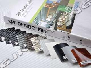 3M Di Noc Carbon Fibre FILM Sample 10 Pieces 5cm x 5cm