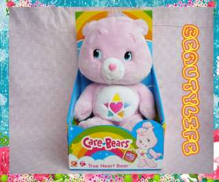 Limited Edition Care Bear Pink True Heart Bear Collection Soft Plush