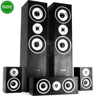 870W 5 Speaker Surround Sound Home Cinema System and DSP Amplifier