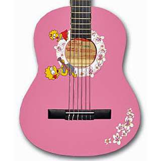 Lisa Simpson Pink 3/4 Classical Guitar