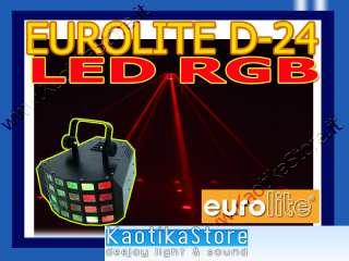 OLITE D 24 LED RGB LED effetto luce LED RGB grande impatto