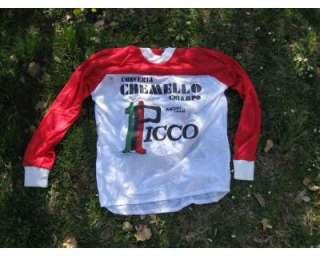 Maglia cross vintage team Picco a Terni    Annunci