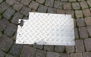 Land Rover Series 2/3 Floor Chequer Plates / Panels 3mm