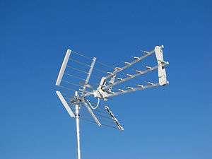 ANTENNA DIGITALE TERRESTRE TRIO 3D OFFEL TRIPLA UHF 17dB 21 500B
