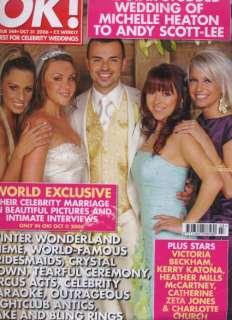 October 2006   Michelle Heaton & Andy Scott Lee Wedding