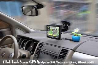 Navigatore GPS 7 Pollici slot SD eBook reader BT Touch