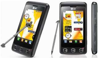 LG KP500 Cookie Black Mobile Phone on T Mobile PAYG 8808992001157