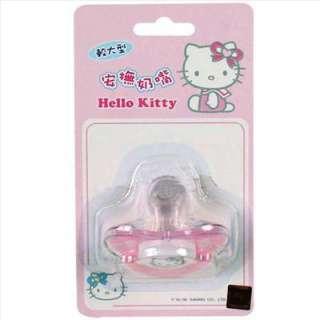 Tétine Sucette Tutute Hello Kitty rose Sanrio 2e Age