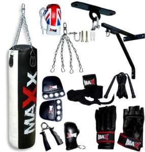 New Pro MAX Boxing Set Punch Bag Bracket Hook Gloves