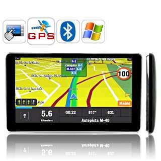 NAVIGATORE SATELLITARE GPS 6POLLICI HD CON WIN CE MULTIMEDIALE