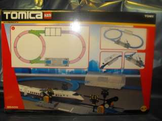 Tomy Tomica Train Set, With Shinkansen Train, Rail Road Crossing