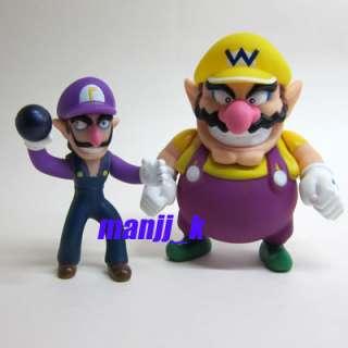 NEW Nintendo Super Mario Figure 10cm Waluigi & 12cm Wario x 1pcs