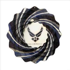 Military Air Force Wind Spinner: Patio, Lawn & Garden