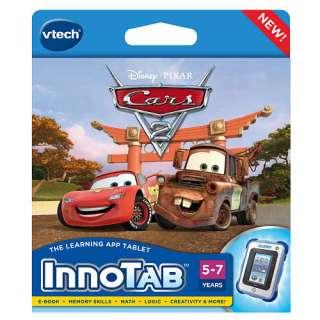 InnoTab Learning Game Cartridge   Disney Pixar Cars 2   FAO Schwarz