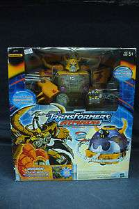 TRANSFORMERS: ARMADA   UNICRON FIGURE w/DEAD END (HASBRO/MIB/2003